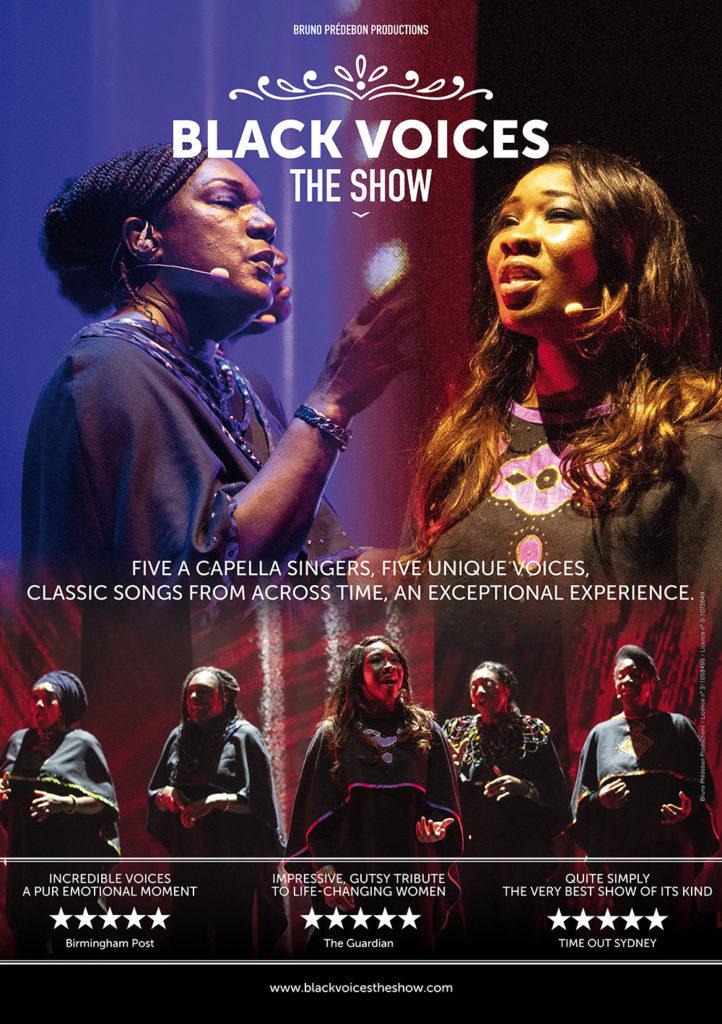 Affiche Black Voices The Show